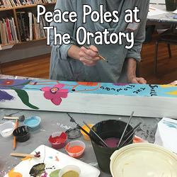Art Icon - Peace Pole - Oratory